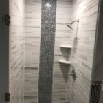 handy hometown services, shower, tile, bathroom remodel,
